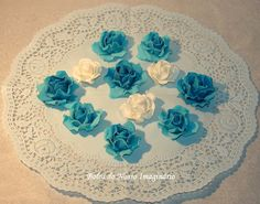 BOLOS DO NOSSO IMAGINÁRIO: ROSAS DE AÇÚCAR - SUGAR ROSES #Sugar #Roses