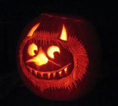 Wild Thing Jack-o-Lantern Halloween Eve, Halloween Inspo, Halloween Pumpkins, Halloween Crafts, Happy Halloween, Halloween Decorations, Costume Halloween, Fall Crafts, Holiday Crafts