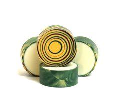Cucumber and oak - CP rimmed soap