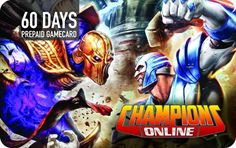 Champions Online PC Time Card (60 Days)