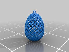 This is a simple ornament for your easter tree or for whatever you want to use it. Simply print it and bring some easter feeling into your home! Supports are needed at the bottom of the egg, but not inside it for the top to look good. There may be some small overhangs, but they don´t matter when you print it at the size of a real easter egg.