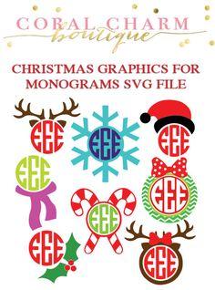 monogram Christmas