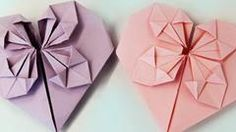 CBBC's Blue Peter - How to make an origami heart - here's a great craft project for kids which  you can help your little one with!