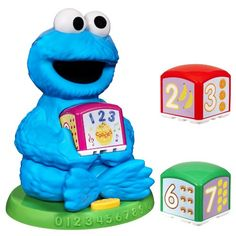 Sesame Street Cookie Monster Find  Learn Number Block * Click image for more details.Note:It is affiliate link to Amazon.