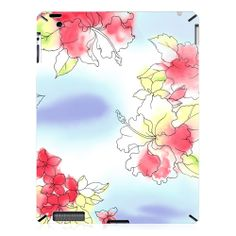Ink Painting Style of Flowers iPad 2 Case