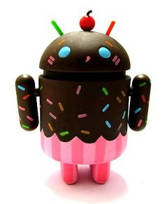 Android Chocolate Cupcake inspiration