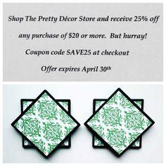 Sale at ThePrettyDecorStore!