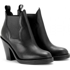 Acne Star Ankle Boots in Black as seen on Jamie Chung