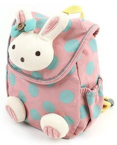 Retail Animal design children boys girls 3D cute rabbit school bag anti-lost backpack kids kindergarten bag baby cartoon