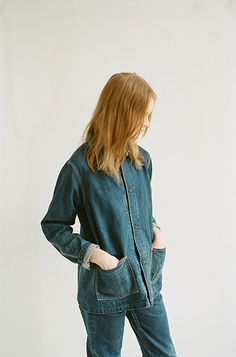 The Color In-Between: Chimala Unisex Denim Coverall, Chimala Narrow Tapered Cut Jean