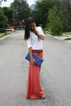maxi skirt... I want one like this!!