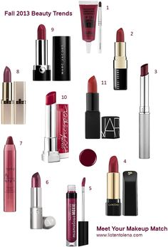 Fall 2013: Meet Your Makeup Match - Listen to Lena