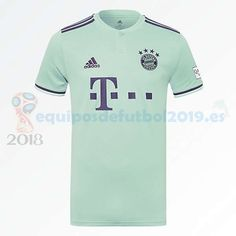 416494cd47f1b Futbol Originales Tailandia Segunda Camiseta Bayern de Múnich 2018 2019  Verde