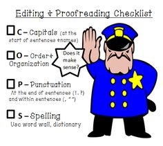 Editing and Proofreading FREEBIE