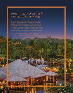 hyatt advertising - Google Search