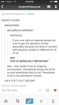 This goes for anybody, regardless of sexuality! Permission once IS NOT permission forever.