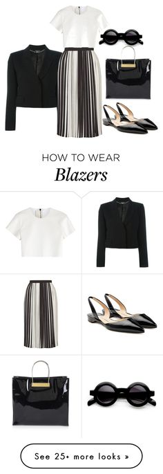 """""""Untitled #480"""" by dvurechenskay on Polyvore featuring Alexander McQueen, Topshop, Neil Barrett, Paul Andrew and Balenciaga"""