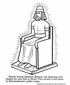 My Children's Curriculum: Daniel Interprets Nebuchadnezzar