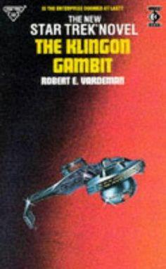 The Klingon Gambit (Star Trek : The Original Series, book by Robert E Vardeman Pocket Books, New Star, Star Trek, Novels, Stars, Starship Enterprise, Sterne, Fiction, Star