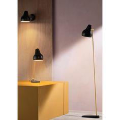 VL38 floor lamp Black