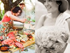 low country boil : http://www.oncewed.com/45743/wedding-blog/a-seafood-boil-party/