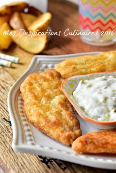 Recette Fish and Chips – The most beautiful recipes Fish Recipes, Meat Recipes, Baking Recipes, Baked Fish, Baked Salmon, Fisher, Camping Breakfast, Fish And Seafood, Fresh Seafood