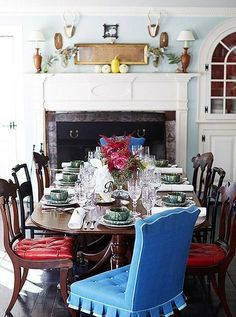Jeffrey Bilhuber ~ his dining room