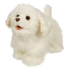 FurReal Friends Gogo's Walkin' Puppies White Spaniel Figure Hasbro http://www.amazon.com/dp/B0043WDY7C/ref=cm_sw_r_pi_dp_.MRxub1FPS2A9
