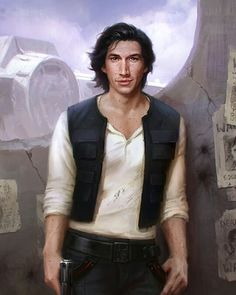 Ben Solo by thelrealmcgee