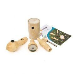 FUZEAU COFFRET DE 5 APPEAUX SOUFFLES - ÉVEIL - APPEAUX - BRUITS ANIMAUX | Woodbrass.com