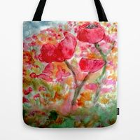 Tote Bags by Patricia Pye | Society6 @patriciapye (c)patriciapyeart @society6 #tote #bags #ppye #bags #retro #style
