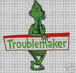 Troublemaker Grinch Crochet Pattern