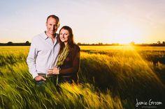 Beautiful evening glow over Norfolk #weddingphotography www.jamiegroom.co.uk
