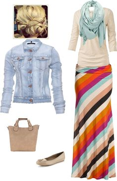 "Absolutely love love love this skirt!  ""Running Errands"" by craigntracy ❤ liked on Polyvore"