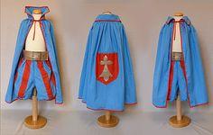 déguisement prince rouge et bleu