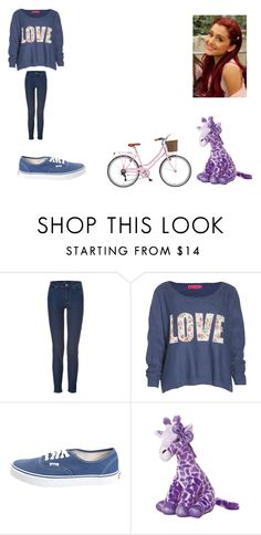 """""""Cat Valentine inspired outfit"""" by cavallaro ❤ liked on Polyvore featuring 7 For All Mankind, Boohoo, Vans, women's clothing, women, female, woman, misses and juniors"""