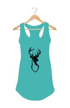 Idaho Deer Women's Tank Top  #Apparel  #GoOutLocal #OnlyinIdaho #Boise #WomensTankTop #Deer