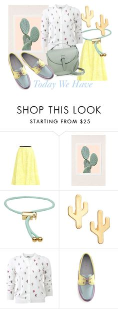 """Today We Have Inspired by CACTUS"" by kotynska-zielinska ❤ liked on Polyvore featuring Erdem, Urban Outfitters, Marc by Marc Jacobs, CAM, Kenzo and Meli Melo"