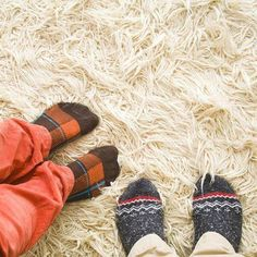 Shags and other longer-pile rugs can get caught in the rotating beater bar of your vacuum cleaner. Instead, flip it over and vacuum the under side.
