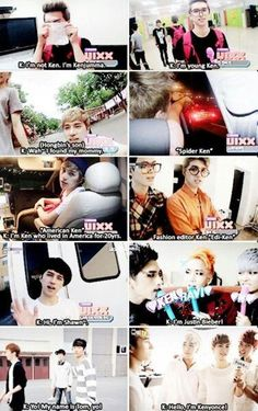 Ken has multiple personalities ~@Halimah Smith  haha XD I have to watch VIXX in more shows >.