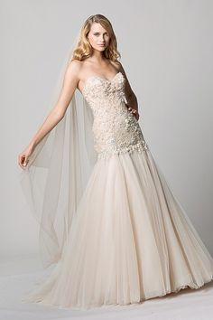 Wtoo Brides Hera Gown    #WTOO #Watters #weddingdress http://www.pinterest.com/wattersdesigns/