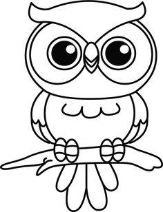 Owl Outline   Owls   Freelance Flash Development   Owl ...