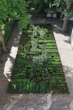 michael van gessel / tuin museum het grachtenhuis, amsterdam