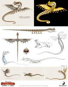Artes de Dragons: Riders of Berk, por Andy Bialk | THECAB - The Concept Art Blog