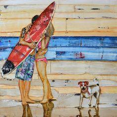 Danny Phillips Art - mixed media