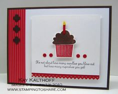 Stamping to Share: 1/5 I Love Everything Cupcake!