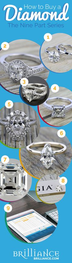Diamonds are as unique as they are rare, so it should come as no surprise that not all diamonds are created equal. This can make shopping for a diamond, especially for the first time, seem overwhelming. Luckily, this guide will take you through the many factors involved in finding the right diamond for you. Learning how to buy a diamond has never been so easy. Check it out!