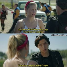 Riverdale 2x6 Riverdale Quotes, Bughead Riverdale, Betty Cooper, Riverdale Betty And Jughead, Gossip Girl Quotes, Image Memes, Series Movies, Pretty Little Liars, Greys Anatomy