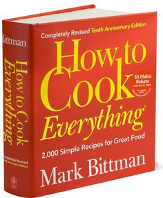 The essential book. Cook one or two recipes a week, and you will be able to cook anything by the time you are thirty!