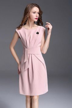 Itcquality 2017 women summer style party cocktail fashion dress o-neck - Modest Dresses, Elegant Dresses, Beautiful Dresses, Casual Dresses, Fashion Dresses, Short Sleeve Dresses, Summer Dresses, Black Women Fashion, Fashion Tips For Women